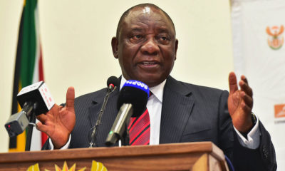 "Cyril Ramaphosa in Davos ""effort to restore confidence in the economy"""