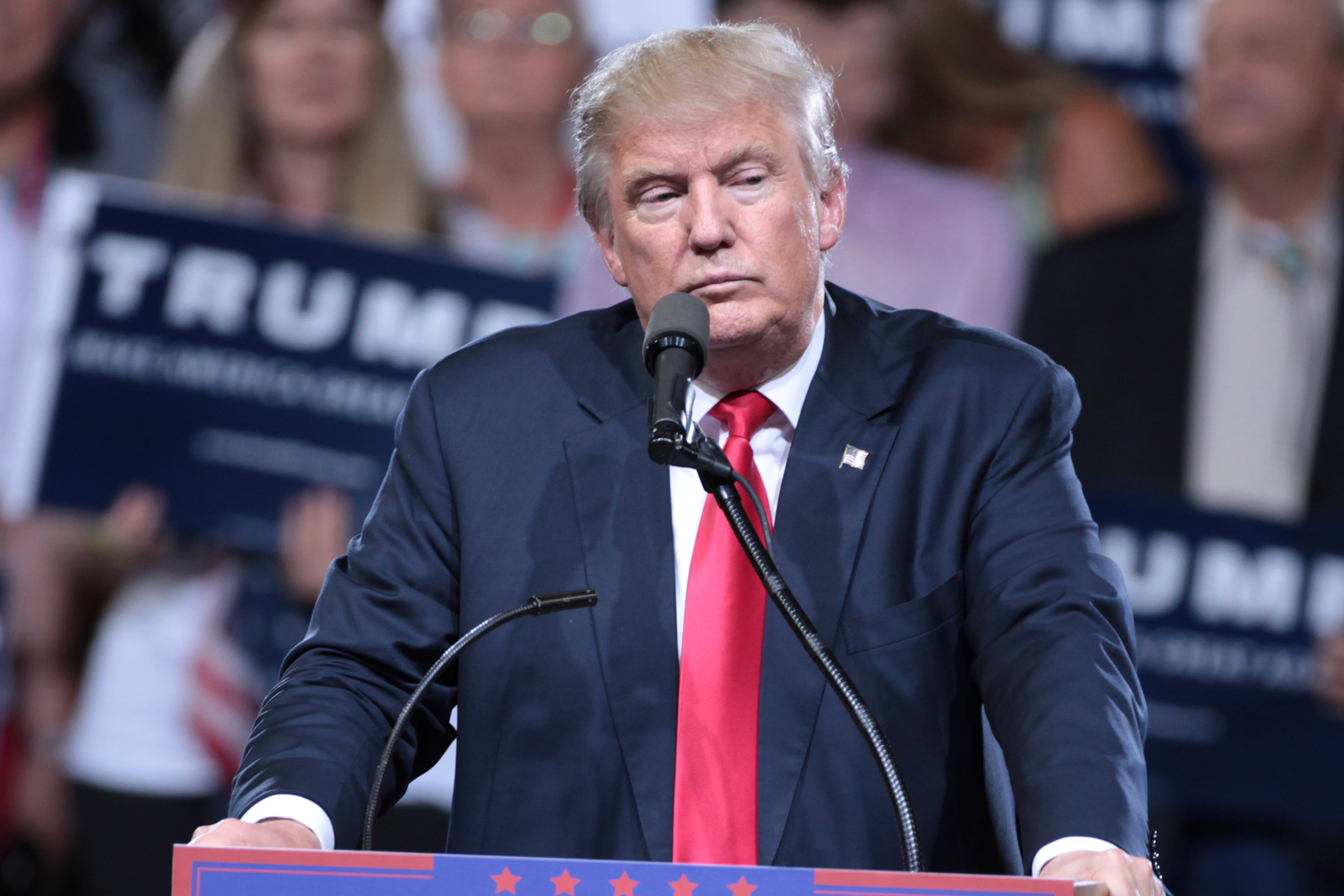 American President Donald Trump announces Fake News Awards winners