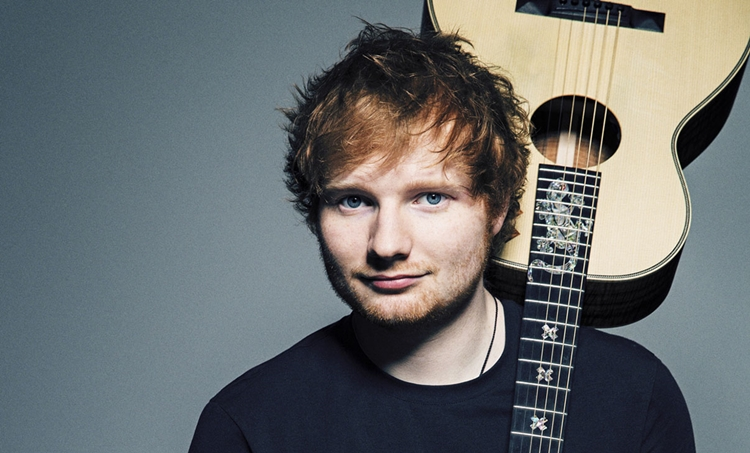 Ed Sheeran is world's best-selling recording artist of 2017