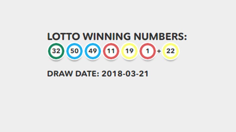Lotto Results on 21 March 2018: Jackpot at a whopping R36 ...