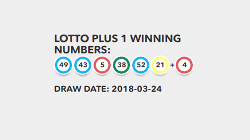 A lucky Irish punter has just won tonight's €5.6m Lotto jackpot