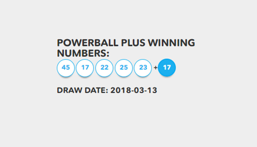 powerball lotto total