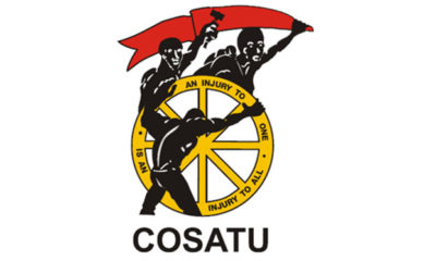COSATU supports South African Social Security Agency strike