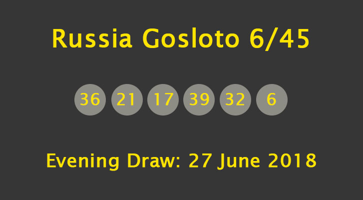 lotto draw numbers