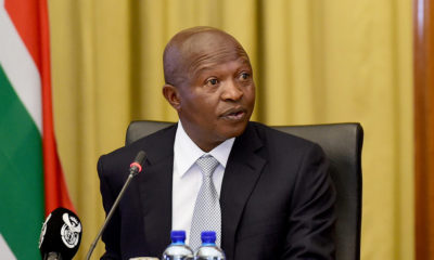 David Mabuza briefs Uhuru Kenyatta on South Sudan peace process