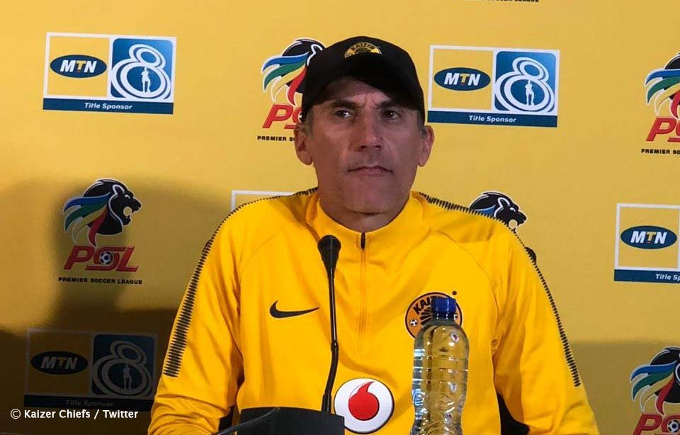 Kaizer Chiefs coach, Giovanni Solinas says leaving out players for selection pains and stresses him