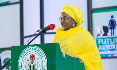 Nigeria's first lady distances herself from 'Amina Mohammed scandal'