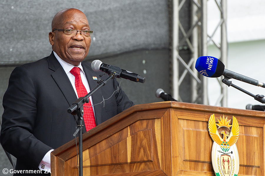 Zuma says nuclear deal with Russia would have solved the power supply issue