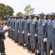 Mozambique police swop grey uniforms for blue