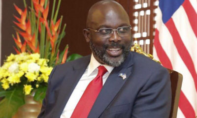 President Weah honours outgoing UN Resident Coordinator for extensive contribution to humanity