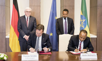 Ethiopia signs MoU with Volkwagen for establishment of new car assembly plant Volkswagen Group