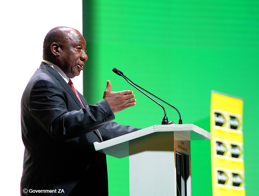 """Ramaphosa urges mining industry to """"show care"""""""