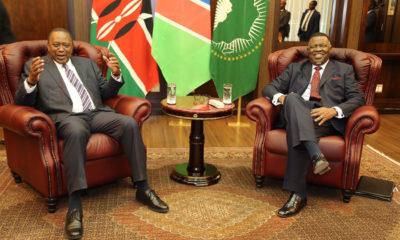 Kenyan President Uhuru Kenyatta bestowed highest honour by Namibia