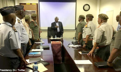 South African troops continue with Malawi and Mozambique relief efforts