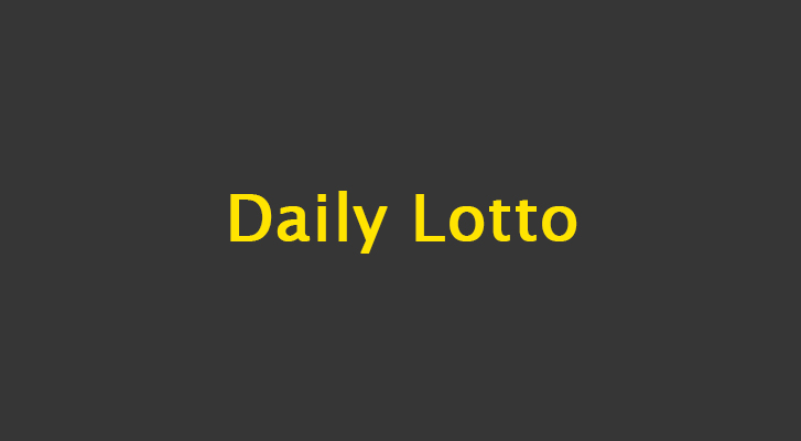 Daily Lotto Results: 11 September 2019 – Political Analysis