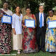 Three Rwandan women awarded 'Women of Courage' award