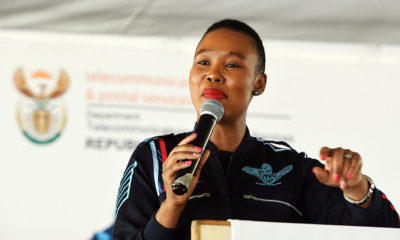 Communications Minister encourages youth to get involved in social media and technology
