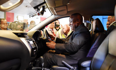 Ramaphosa praises Nissan for multi-million dollar investment in its local car plant