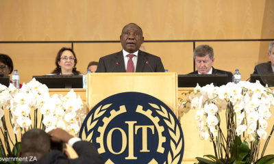 President Ramaphosa advocates for workers' rights at UN commission
