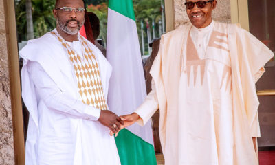 President Weah expresses gratitude to Nigeria for being peace-bearers