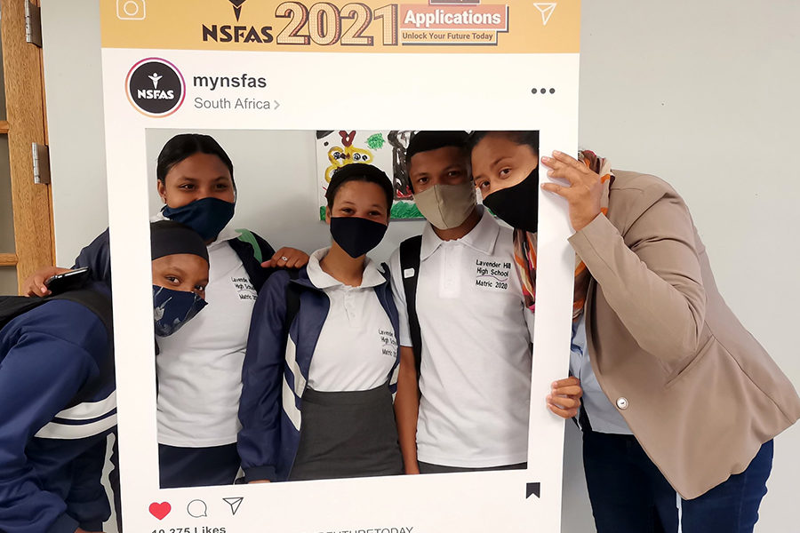 NSFAS Apply With Us activation heads to Upington ...